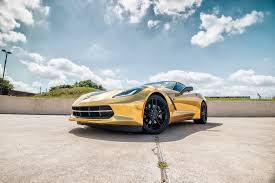 corvette stingray gold gold chrome carbon fiber stingray car wrap city