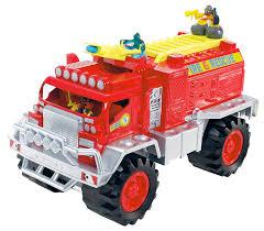 amazon com matchbox big boots blaze brigade fire truck vehicle