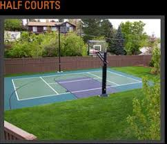 58 best backyard basketball court images on pinterest backyard