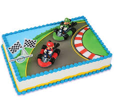 mario cake decopac mario mario kart decoset cake decoration