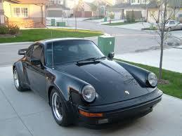 used porsche 911 canada 1984 porsche 930 911 turbo coupe black in black for sale in