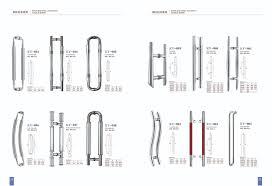 Shower Glass Door Parts High Quality Inox Handle For Shower Glass Door Yk 2301 Door And