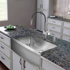 vigo stainless steel pull out kitchen faucet faucet com vg02009st in stainless steel by vigo