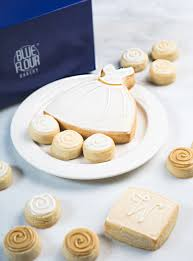 wedding box celebration box blue flour bakery