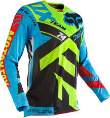 fox jersey motocross fox jersey 360 divizion blue yellow 2016 maciag offroad