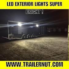enclosed trailer exterior lights 24 haulmark edge car racing trailer loaded enclosed trailers