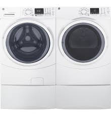 ge 7 5 cu ft capacity front load electric dryer with steam