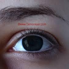 black out halloween contact lenses demon eyez 26 99 per pair