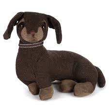 new dora designs egbert the dachshund doorstop ebay