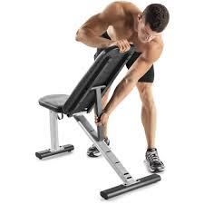 Adjustable Workout Bench Gold U0027s Gym Xr 6 0 Adjustable Weight Bench Walmart Com