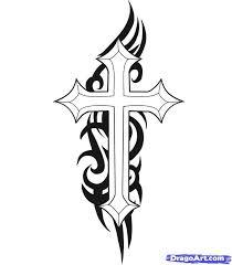 Small Tribal Cross - best 25 cross designs ideas on cross drawing
