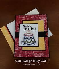 Birthday Delivery Stampin U0027 Up Birthday Delivery Birthday Card Stampin U0027 Pretty