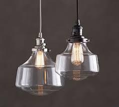 pottery barn lights hanging lights pendant lighting pottery barn