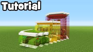 eco house minecraft tutorial how to make a modern eco house youtube