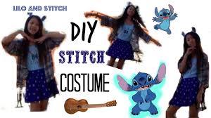 diy stitch costume for halloween youtube