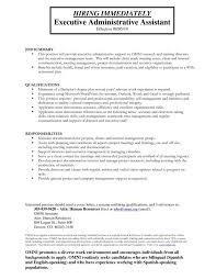 executive assistant resume templates administrative assistant resume templates template business