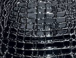 black crocodile italian designer ceramic tiles