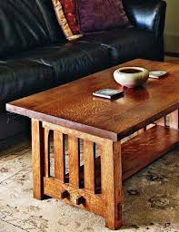 coffee table mission coffee table plans woodarchivist wooden