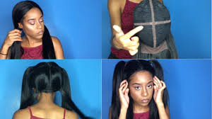 can you use syntheic on a vixen sew in vixen sew in or bomb wig outre swiss x vixen 4 way part wig