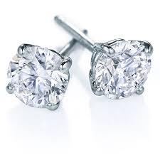 diamond studs for men two golden rings diamond studs