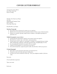 Cold Contact Cover Letter Sample Cover Letter Address Format My Document Blog