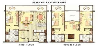 Treehouse Villas Floor Plan Saratoga Springs Grand Villa Floor Plan U2013 Meze Blog