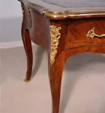 Antique French Desk French Antique Louis Xv Period Bureau Plat 1700 U0027s Library Table