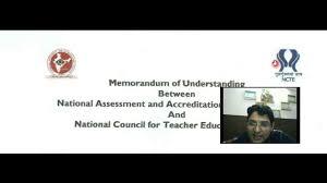 ncte qci accreditation or naac accreditation youtube