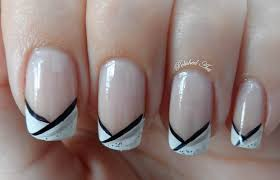 29 stunning colored nails with white tips u2013 slybury com