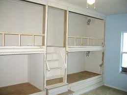 Built In Bunk Bed Custom Built Bunk Beds Pictures Gallery Of Built In Bunk Bed