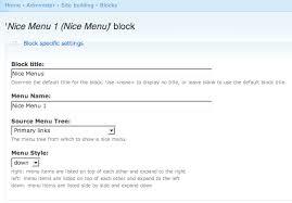 theme drupal menu block nice menus drupal org