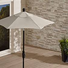 Patterned Patio Umbrellas Outdoor Patio Umbrellas Crate And Barrel