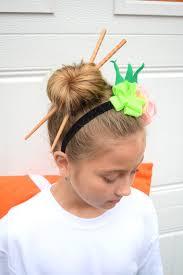 infinity headband diy sushi costume and a wasabi headband