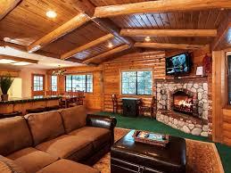 Log Cabin Living Room Designs Orange Living Room Rock Fireplace Carameloffers