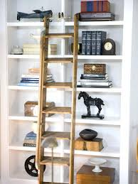 Sliding Bookshelf Ladder Bookcase Full Size Of Billy Bookcase Hack With Library Ladder
