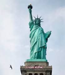 a turf war rages at statue of liberty
