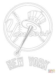 new york yankees coloring pages many interesting cliparts