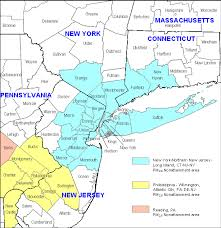 map of nyc areas which areas in new do not attain pm standards air
