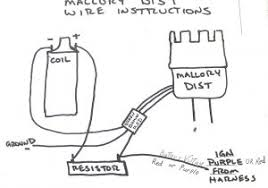 fresh mallory distributor wiring diagram new update wiring