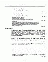 Sample Resume For Correctional Officer Parole Agent Cover Letter