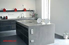 cuisine en beton beton sur carrelage cuisine beton cire sur carrelage mural cuisine