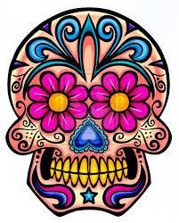 flower sugar skull crafts sugar skulls sugaring and
