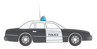 vector police car side view png clipart download free images in png