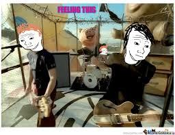 Blink 182 Meme - feeling this by blink 182 by elvinjohn tropezado meme center