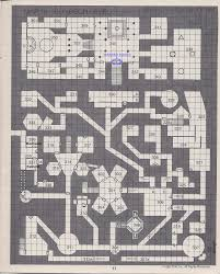 dungeon floor plans dungeon of signs map design thoughts