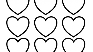 heart color heart coloring pages 2 coloring kids lawslore