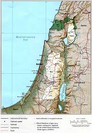 political map of israel maps of israel israel maps map of israel israel map maps