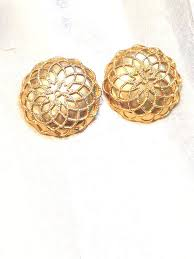 gold clip on earrings 96 best clip earrings here they are images on clip