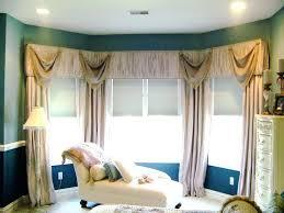 Drapery Designs For Bay Windows Ideas Curtains For Bay Windows Window Treatment Ideas For Bay