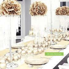 gold centerpieces gold centerpieces gold wedding decorations ideas